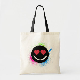 Tote Bag Smiley Coeur