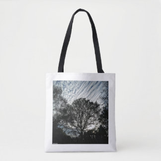 """Tote Bag """"Soirée au parc"""" par Pablo A. Cuadra"""