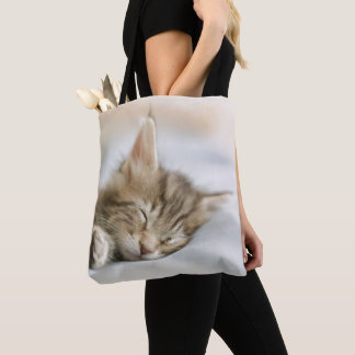 Tote Bag Sommeil de chaton de ragondin du Maine