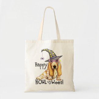 Tote Bag Sorcière de Basset Hound