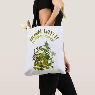 Tote Bag Sorcière de fines herbes - guérison naturelle,