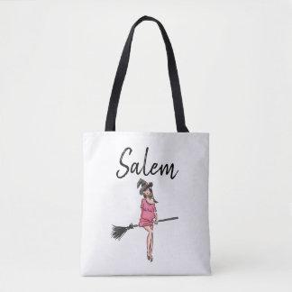 Tote Bag Sorcière de Salem/sac fourre-tout à Halloween