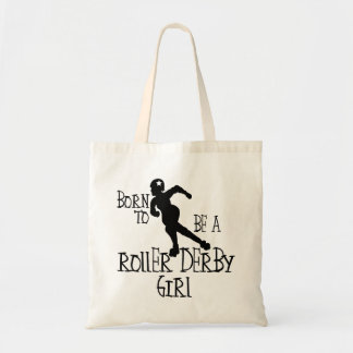 Tote Bag Soutenu pour être une fille de Derby de rouleau