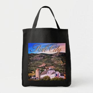 Tote Bag Souvenir de Park City - la grange !