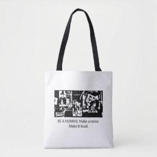 Tote Bag Soyez fourre-tout humain