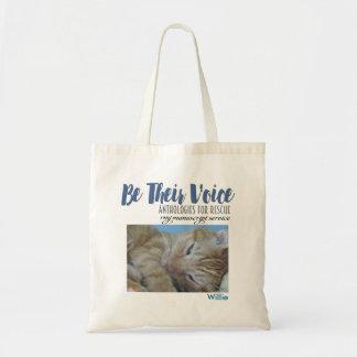 Tote Bag SOYEZ LEUR Voix-Animal que la délivrance
