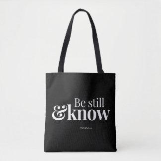 Tote Bag Soyez toujours et sachez