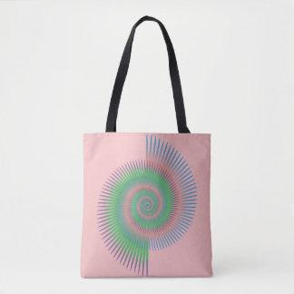 Tote Bag Spirale de roue de Catherine