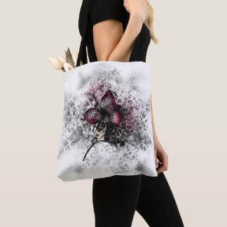 Tote Bag Style gothique de Fashionillustration de papillon