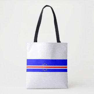 Tote Bag Symbole de drapeau de pays du Cap Vert longtemps