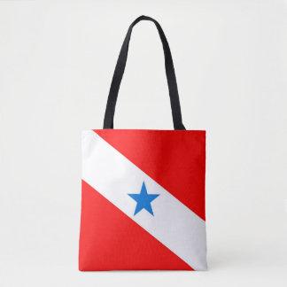 Tote Bag Symbole de région de province de drapeau de Para