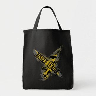 Tote Bag Symboles de ligue et d'équipe de justice de la