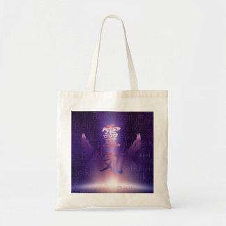 Tote Bag Symboles de Reiki et mains curatives sur la
