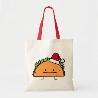 Tote Bag Taco portant le Salsa de viande de coquille de
