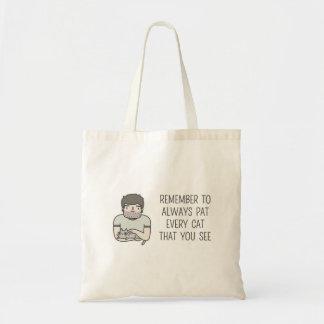 Tote Bag Tapotement de chat