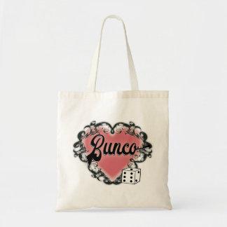 Tote Bag tatouage de coeur de bunco