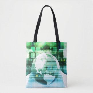 Tote Bag Technologie futuriste de la Science comme art de