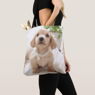 Tote Bag Teckel miniature