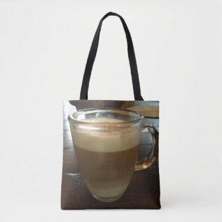 Tote Bag temps Fourre-tout de café