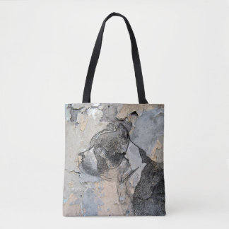 Tote Bag Terrier grunge de Pitbull