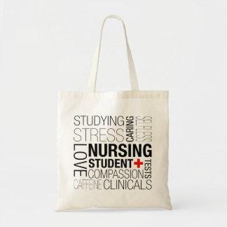 Tote Bag Texte d'étudiant de soins