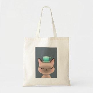 Tote Bag Thé de chat