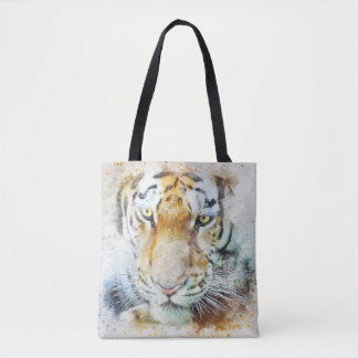 Tote Bag The face of tiger