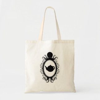 Tote Bag Théière dans une camée Steampunk de poulpe