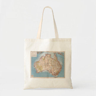 Tote Bag Topographie australienne Map (1905)