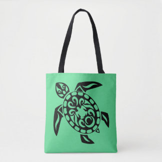 Tote Bag Tortue tribale