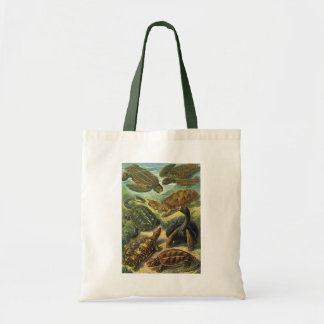 Tote Bag Tortue vintage de terre de tortues de mer par
