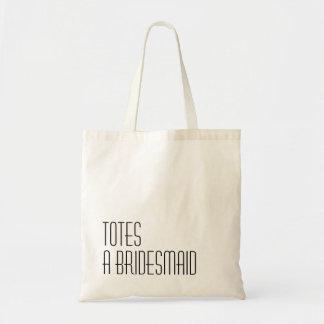 Tote Bag TOTES une demoiselle d'honneur