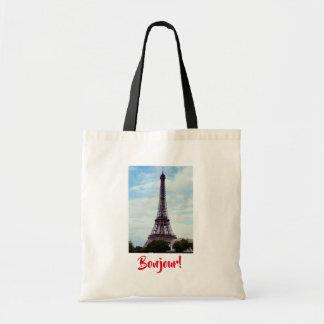 Tote Bag Tour Eiffel fourre-tout quotidien
