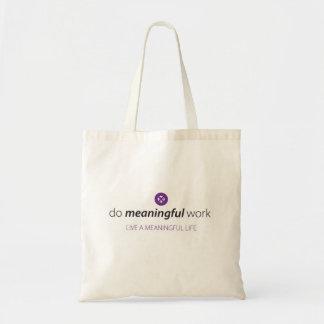 Tote Bag Travail signicatif Fourre-tout