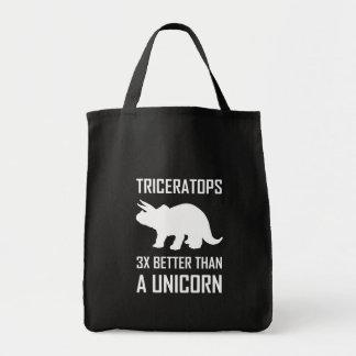 Tote Bag Triceratops meilleur que la licorne
