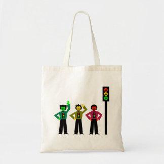 Tote Bag Trio déprimé de feu d'arrêt avec les moustaches 1