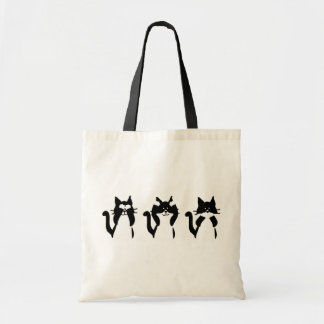Tote Bag Trois minous sages