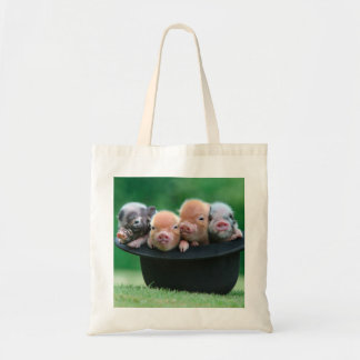 Tote Bag Trois petits porcs - trois porcs - casquette de