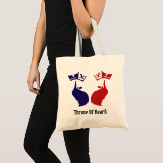 Tote Bag Trône de l'amour interdit par barbe
