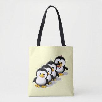 Tote Bag Troupeau des pingouins