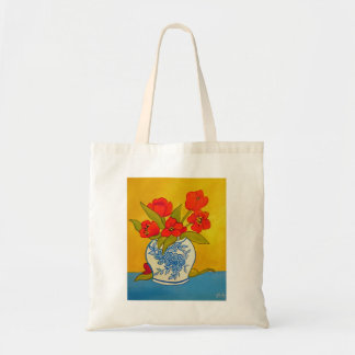 Tote Bag Tulipes rouges