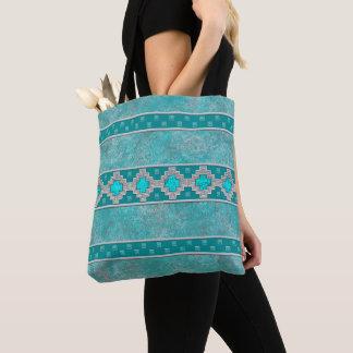 Tote Bag Turquoise de sud-ouest