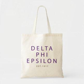 Tote Bag Type moderne epsilon de phi de delta