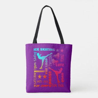 Tote Bag Typographie colorée terminologique de thème de