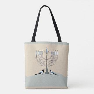 Tote Bag Un désert Hanoukka heureux fourre-tout