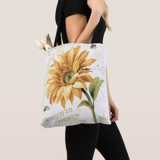 Tote Bag Un tournesol en pleine floraison