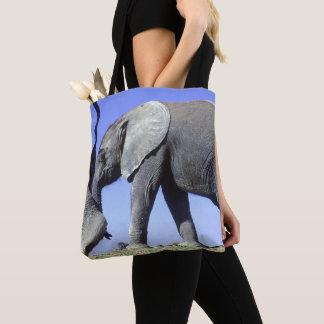 Tote Bag Veau d'éléphant africain