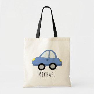 Tote Bag Véhicule et nom de la voiture du bébé mignon
