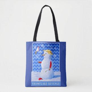 Tote Bag Vengeance de flocon de neige - satire d'atout