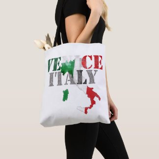 Tote Bag Venise Venezia Italie. Art d'aquarelle, affligé